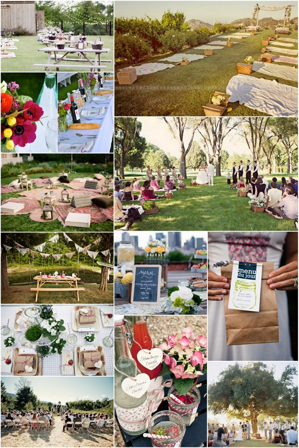 Picnic Wedding Idea