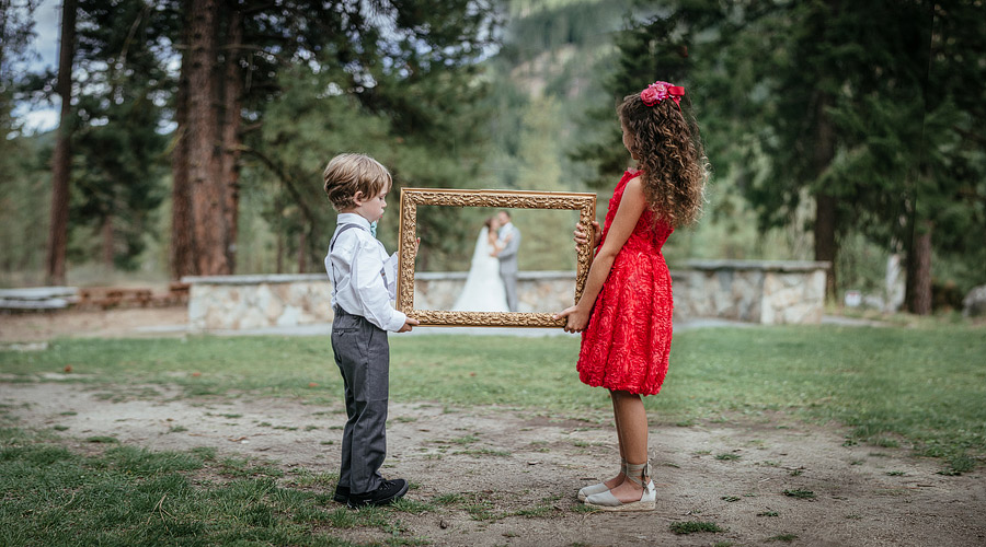 Frame-wedding-idea