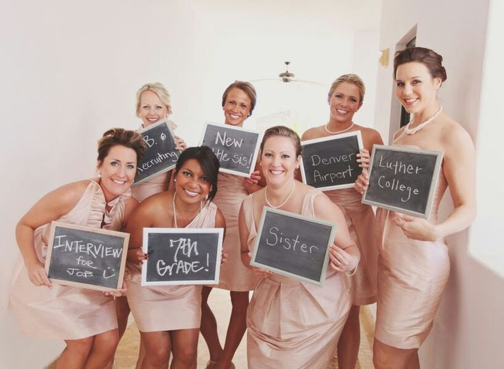 bridesmaids pic idea
