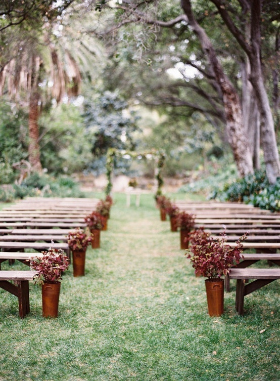 Wedding-ceremony-benches