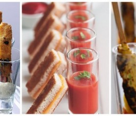 Wedding Canapé Ideas – Canapés in Shot Glasses