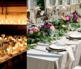 What Table Shape Will Work for Your Wedding
